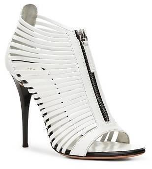 Giuseppe Zanotti Leather Gladiator Zipper Sandal