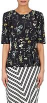 Altuzarra Women's Erinna Gathered Silk Georgette Top