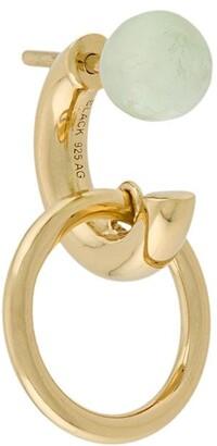 Maria Black Elvira stone-embellished single earring