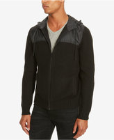 Kenneth Cole Reaction Men's Marled Zip-Front Hoodie