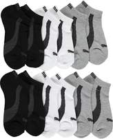 "Puma Boys' ""Logo Basics"" 6-Pack Low Cut Socks"