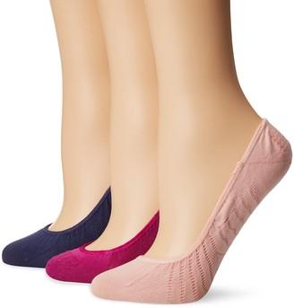 Sperry Women's No Show Micro Liner Socks 3 Pair
