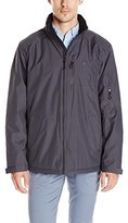 Izod Men's Ultra Durable Fleece Lined Rip-Stop Jacket