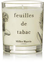 Miller Harris Feuilles De Tabac Scented Candle, 185g - Colorless