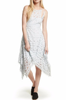 Free People Ice Blue Lace Dress