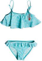 Roxy 2-Pc. Floral-Print Bikini, Little Girls