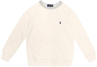 Polo Ralph Lauren Kids Cotton-blend jersey sweatshirt