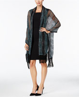 Steve Madden Fancy Fringe Woven Day Wrap