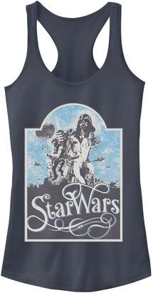 Star Wars Juniors' Vintage Poster Logo Tank Top