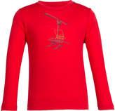 Icebreaker Boys' Tech Lite Long Sleeve Crewe Chair Lifter Tee - Rocket/Bolt Graphic T Shirts