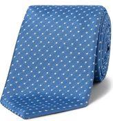 Durban D'Urban Spot Neat Silk Tie