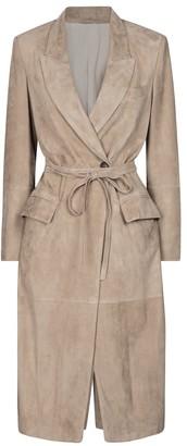 Brunello Cucinelli Suede coat