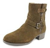 Ellen Tracy Penny Women Round Toe Suede Ankle Boot.