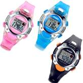 Lancardo 3 Pack Blue/Pink/Black Multifunction Digital Watches for Boys Girls Kids Christmas with Gift Bag