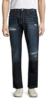 Jean Shop Mick Distressed Slim Fit Jeans