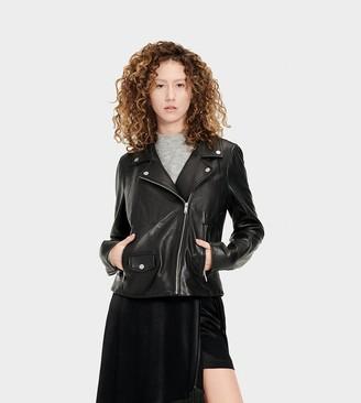 UGG Alba Leather Jacket
