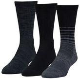 Under Armour UA Phenom Twisted Crew Socks - 3 Pack