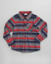 Splendid Littles Plaid Button-Down Shirt, 2T-4T