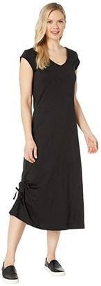 Toad&Co Samba Muse Dress (Black) Women's Clothing