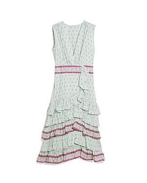 Sandro Jarn Ruffled Dress