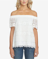 1 STATE 1.STATE Off-The-Shoulder Lace Top