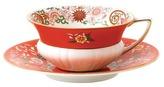 Wedgwood Wonderlust Crimson Orient Cup & Saucer
