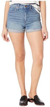 Madewell High-Rise Denim Shorts in Malden Wash (Malden Wash) Women's Shorts