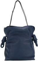 Loewe bucket shoulder bag - women - Cotton/Linen/Flax/Calf Leather - One Size