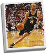 "Steiner Sports San Antonio Spurs Tony Parker ""Drive To Basket"" 32"" x 40"" Stretched Canvas"
