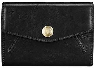 Maxwell Scott Bags Women S Elegant Small Leather Purse In Black