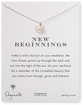 Dogeared New Beginnings Pendant Necklace, 18""