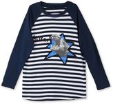 Stella McCartney blue max striped hippo t-shirt