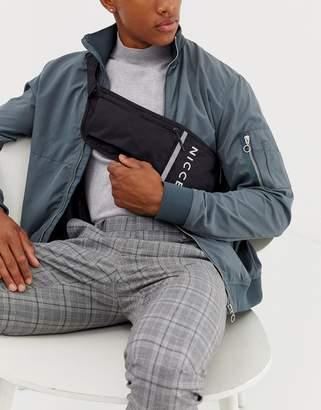 Nicce cross body bag in black