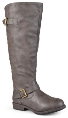 Journee Collection Spokane Wide Calf Riding Boot