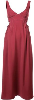 Ellery Flared Midi Dress