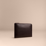 Burberry London Leather Document Case