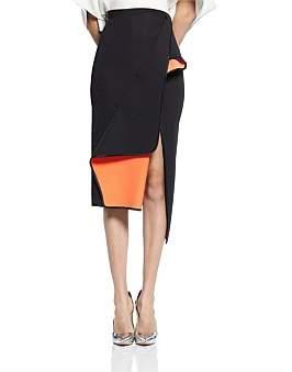 Maticevski Pacific Wrap Skirt