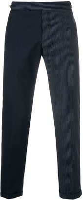 Thom Browne Fun-Mix Pinstripe Skinny-Fit Trouser