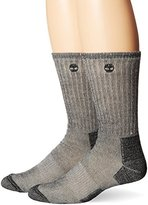 Timberland Men's 2 Pack Heavy Weight Wool Hiker Sock