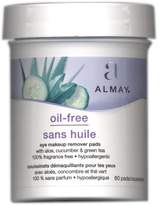 Almay Oil, Free Eye Makeup Remover Pads, 80 ct, 2 Pack
