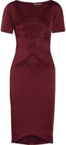 Zac Posen Embellished satin-crepe dress