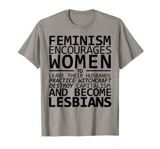 Smash Wear The Patriarchy Equality Feminist T Shirts FEMINISM ENCOURAGES WOMEN TO PRACTICE WITCHCRAFT Meme T-Shirt