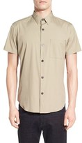 Theory Men's 'Rammis' Trim Fit Short Sleeve Sport Shirt