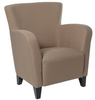 Monarch Specialties Inc. Armchair Fabric: Brown