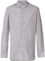 Isaia classic checked shirt
