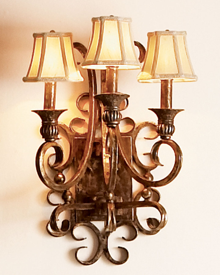 Horchow Three-Light Sconce