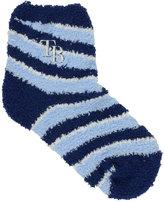 For Bare Feet Tampa Bay Rays Sleep Soft Candy Striped Socks