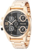 Police Men's PL14374JSR02M Casual Copperhead Multifunction Watch