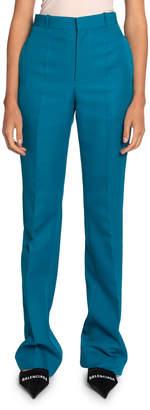Balenciaga Twill High-Rise Pants