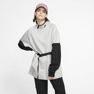 Nike Women's Mock Neck Dress Sportswear Tech Fleece